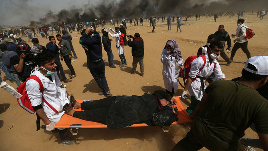 'Wounds the size of a fist': Gaza protesters' gunshot injuries unusually severe, medics say