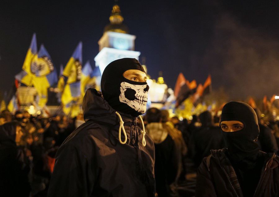 Ukrainian authorities slam TV channel for airing V-day concert, condemning neo-Nazis