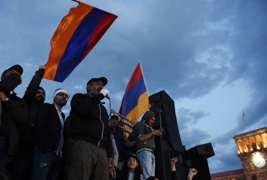 Leader's ambition risks turning street protest victory into mob rule in Armenia – experts