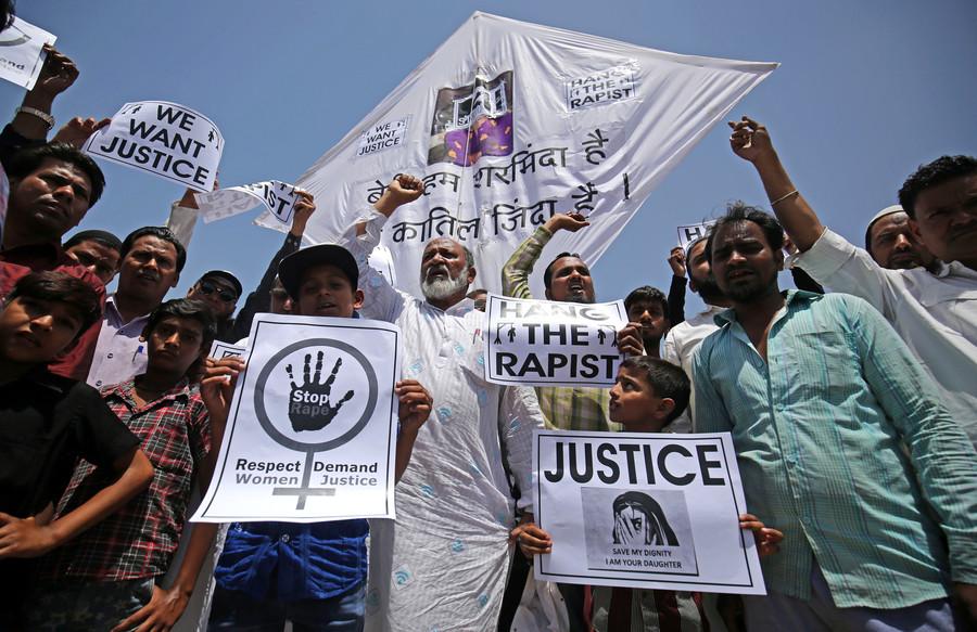 Indian man sentenced to death after raping & murdering 6yo girl