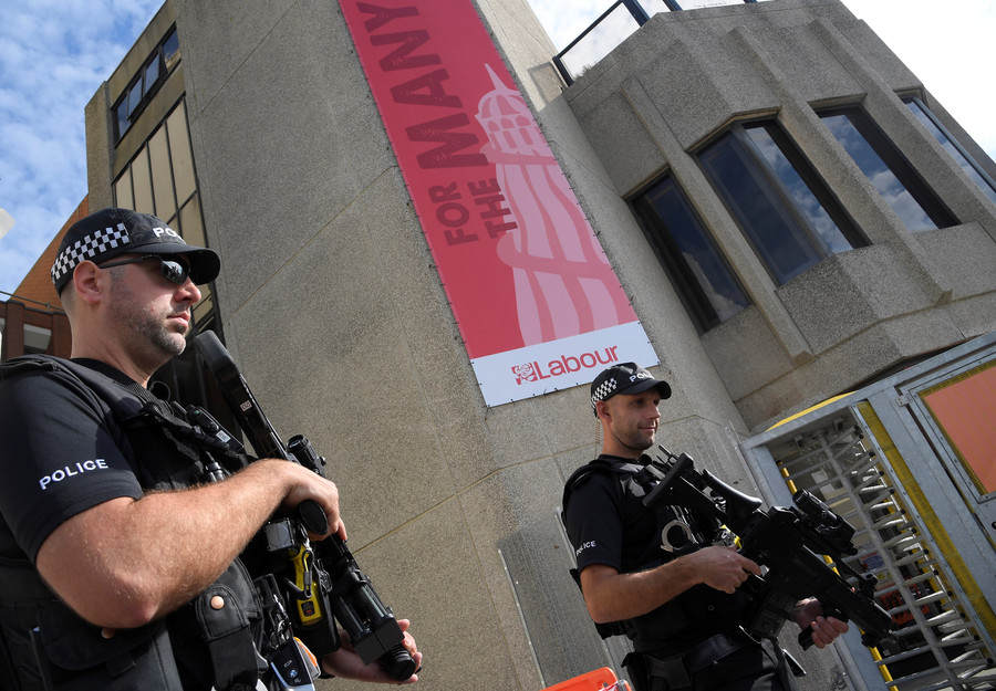 'Extreme activist' journalist sues police after being barred from Labour conference