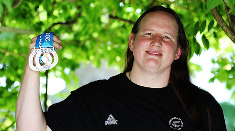 Weightlifter Laurel Hubbard. � Hannah Peters