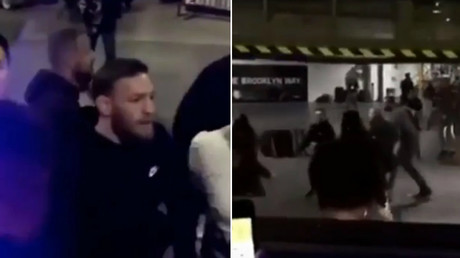 Conor McGregor attacks UFC 223 fighters' bus hunting for Khabib Nurmagomedov (VIDEO)