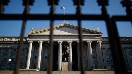 The U.S. Treasury Department building © Chip Somodevilla / Getty Images North America