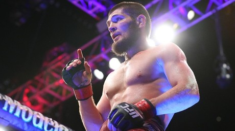Khabib Nurmagomedov becomes Russia's first UFC champion