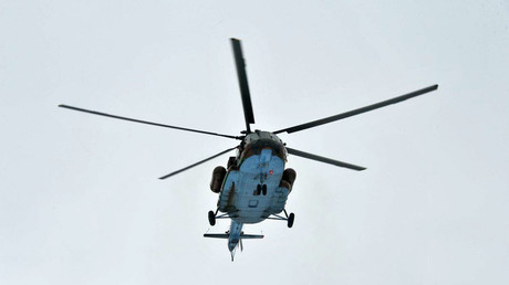 Helicopter crashes in Russian Far East city, 6 killed