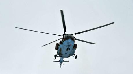 FILE PHOTO: Mi-8 helicopter © Pravda Komsomolskaya