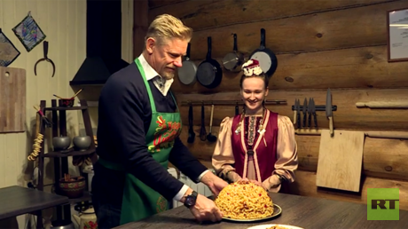 World Cup host city explored: Football legend Peter Schmeichel samples local customs in Kazan