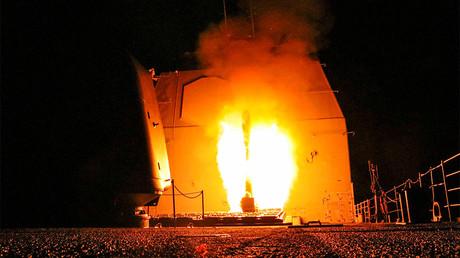 Bullhorns: Syria attacked