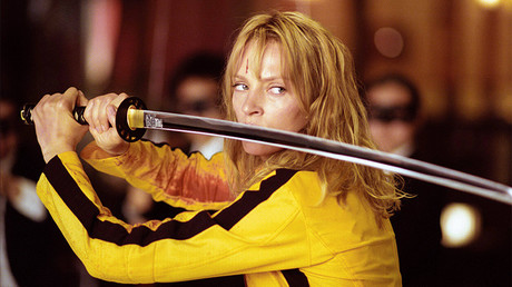 Uma Thurman as Beatrix Kiddo aka Black Mamba aka The Bride in 'Kill Bill: Volume 1.' © Global Look Press