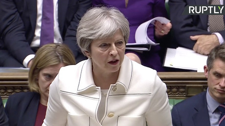 UK PM Theresa May claims Syria strikes 'not because Trump told us to'