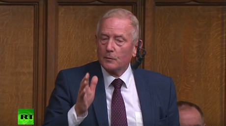 MP tells of concern at UN over volatile US president during debate on Syria strikes
