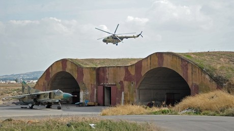 FILE PHOTO A militray airfield in Syria. © Dmitry Vinogradov