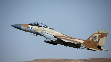 FILE PHOTO: Israeli F-15 fighter jet © Amir Cohen