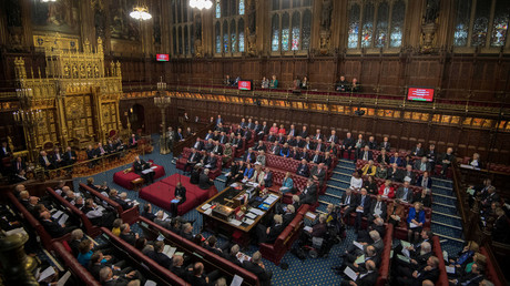 The House of Lords © Victoria Jones