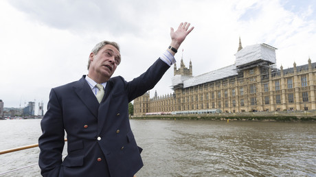 'Faux national twit!' Nigel Farage blasted as he admits his sons have German passports