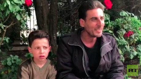 Staged suffering? Interview with boy in Douma video raises more doubts over 'chem attack'