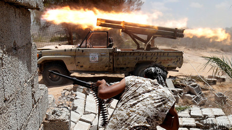 FILE PHOTO: Libyan forces allied with the UN-backed government, Sirte, Libya, 2016 © Goran Tomasevic