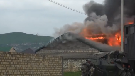 Robots & APCs: Anti-terrorist units eliminate nine militants in Russia's Dagestan (VIDEO)