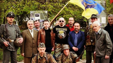Ukraine's far-right honors SS unit, but guess what the Western MSM is really worried about