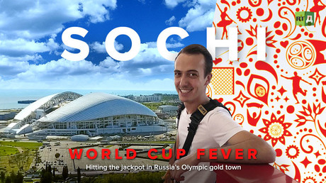 World Cup Fever: Sochi Hitting the jackpot in Russia's Olympic gold town