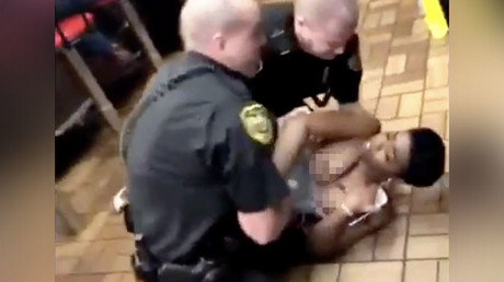Black woman left topless as Alabama police throw her to floor in Waffle House arrest (VIDEO)