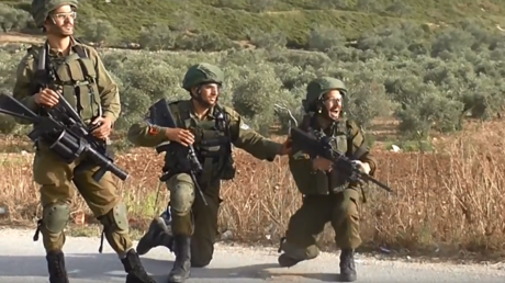 'That will teach them': Israeli soldiers gloat & cheer as they shoot Palestinian protesters (VIDEO)
