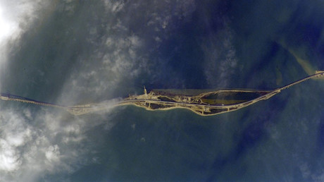 Cosmonaut shares epic PHOTOS of Crimea Bridge from space ahead of its opening