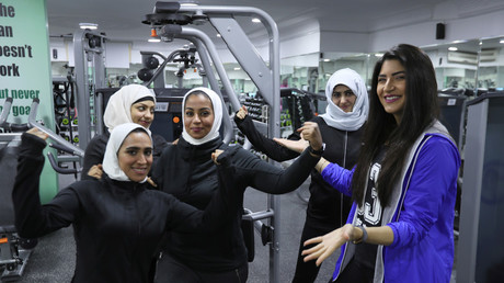 Lycra-clad woman prompts worked up Saudis to shut female gym (VIDEO)
