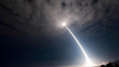 First fire of 2018: US Air Force tests Minuteman III ICBM in California (VIDEO)