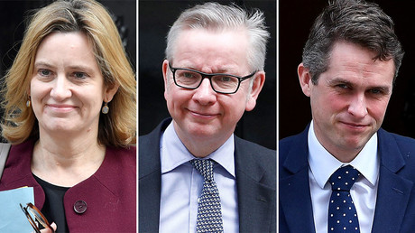 Rudd, Gove & Williamson seek funds for Tory leadership bid – report