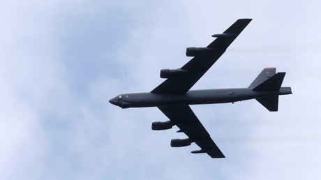 FILE PHOTO: U.S. bomber B-52 © Ints Kalnins