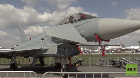 Aircraft displayed at ILA Berlin Air Show 2018