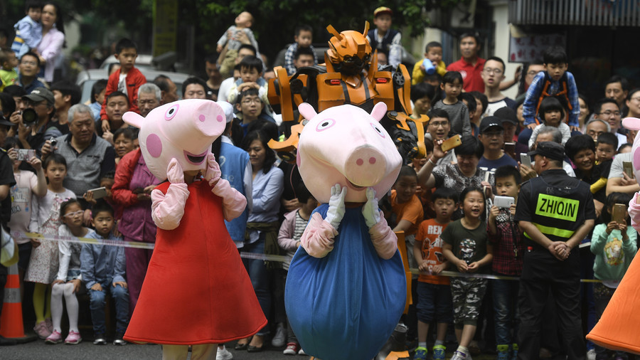 Peppa blacklisted? China reportedly censors animated pig as an 'antisocial subculture icon'