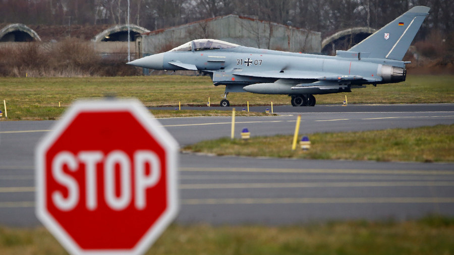 Only 4 of Germany's 128 Eurofighter Typhoon jets 'ready for combat' – report