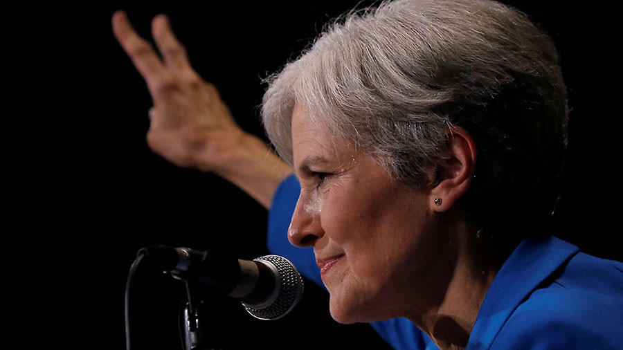 Media attacks US Green candidate Stein over her non-existent collusion with Russia