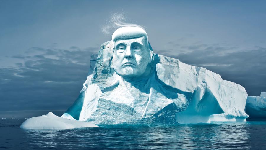 Climate change activists plan bizarre Donald Trump iceberg project
