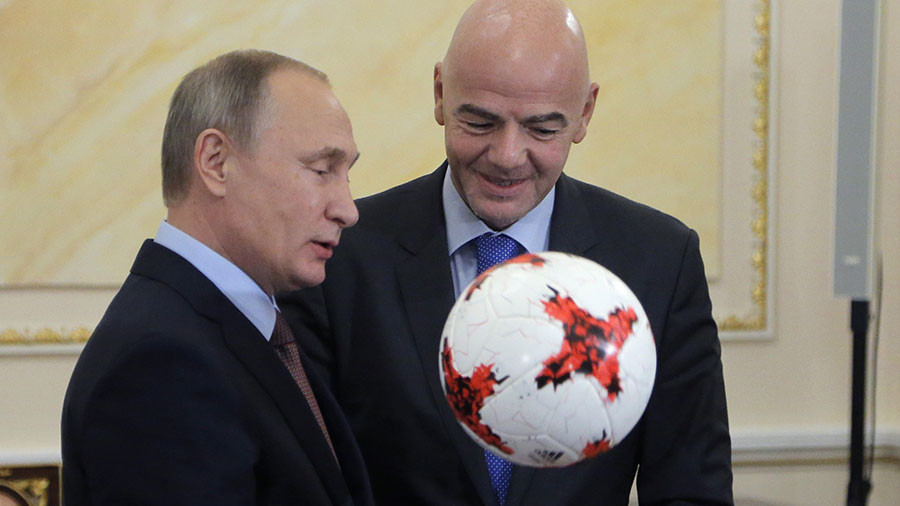 Vladimir Putin to attend 2018 FIFA World Cup opening match between Russia and Saudi Arabia