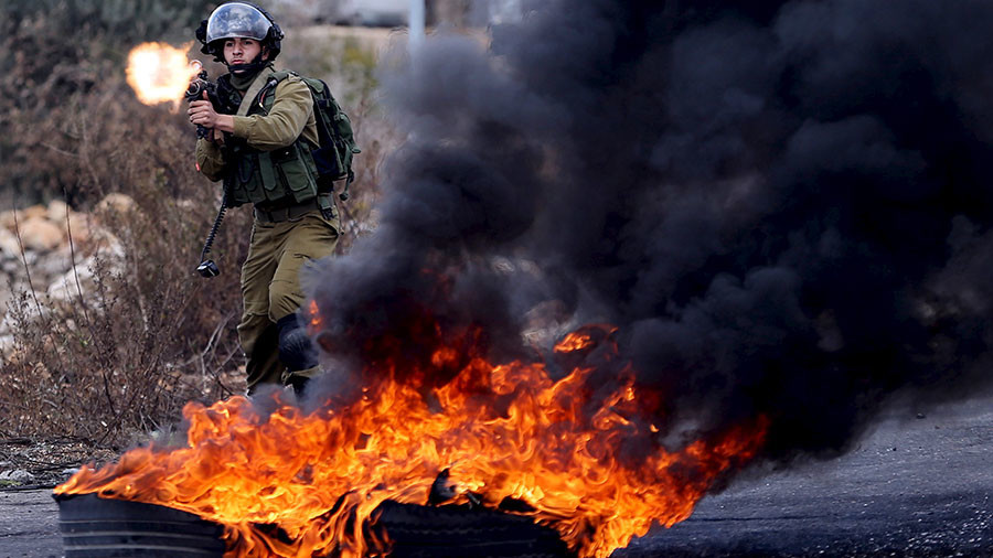 Palestinians resisting Israeli occupation not the same as rebels fighting Syrian govt