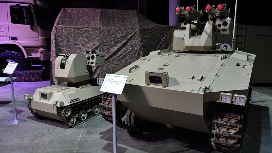 Race of the war machines: Russian battlefield robots rise to the challenge