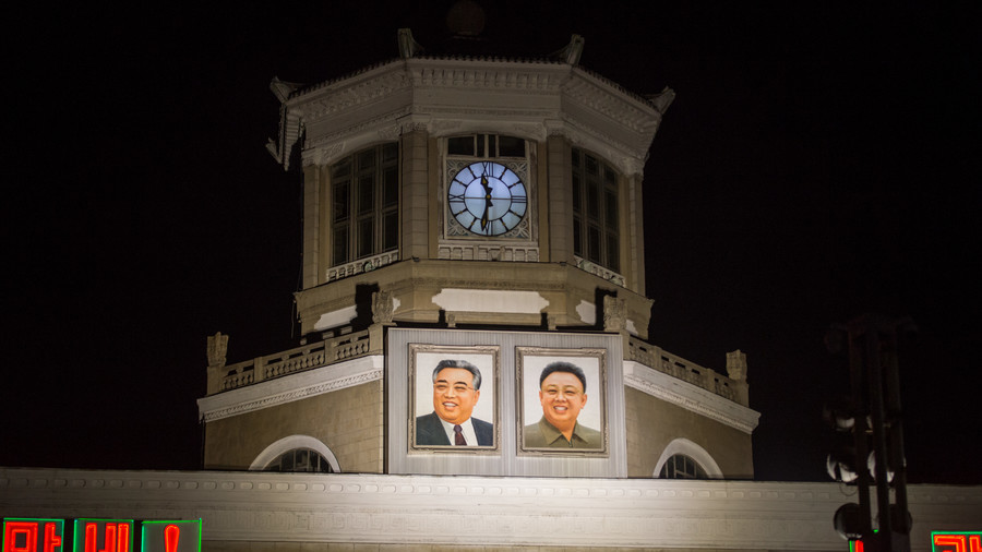 Settling the difference N. Korea realigns clocks with Seoul