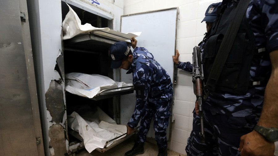 Israel & Hamas trade accusations over Gaza blast that killed 6
