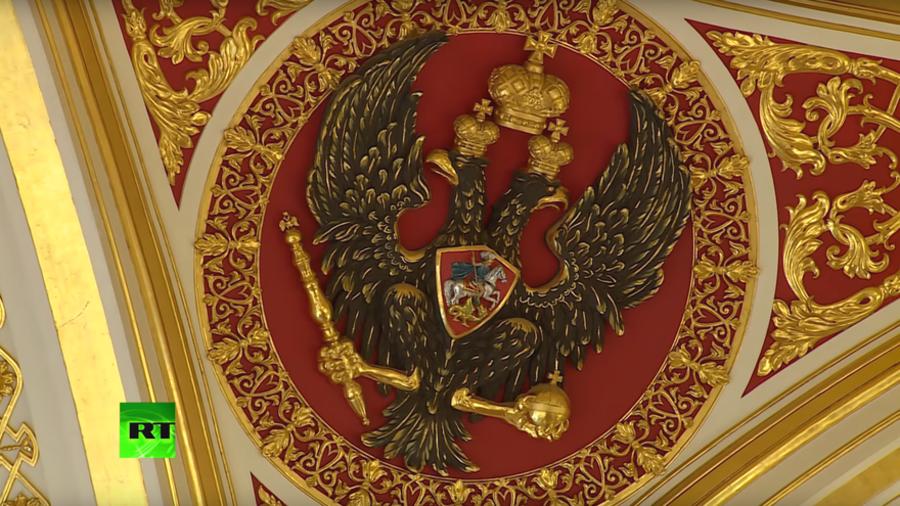RT peeks into Kremlin's great halls ahead of Putin's inauguration (VIDEO)