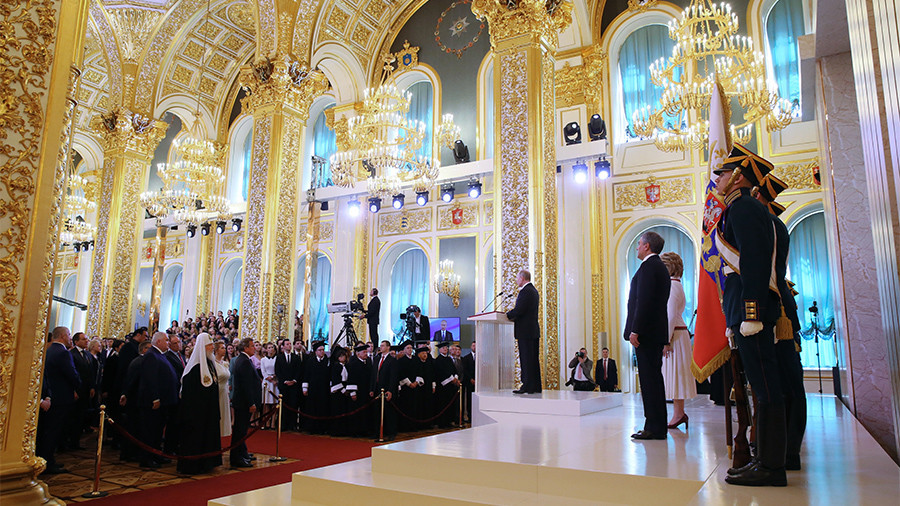 Putin sworn in for fourth presidential term (FULL VIDEO)