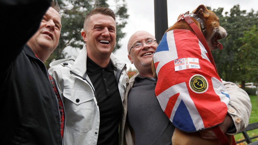 'Facts are now seen as hate': Tommy Robinson vows to take Twitter to court