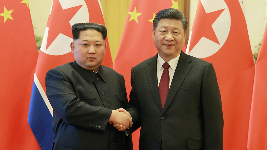 Xi Jinping and Kim Jong-un in second meeting in China