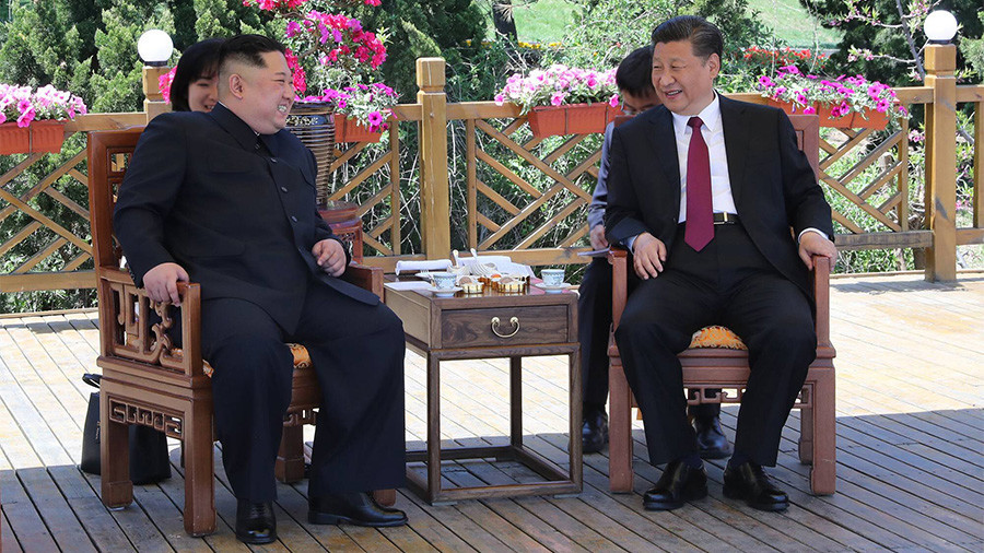 North Korean leader meets Chinese President for the first time since historic Korean talks