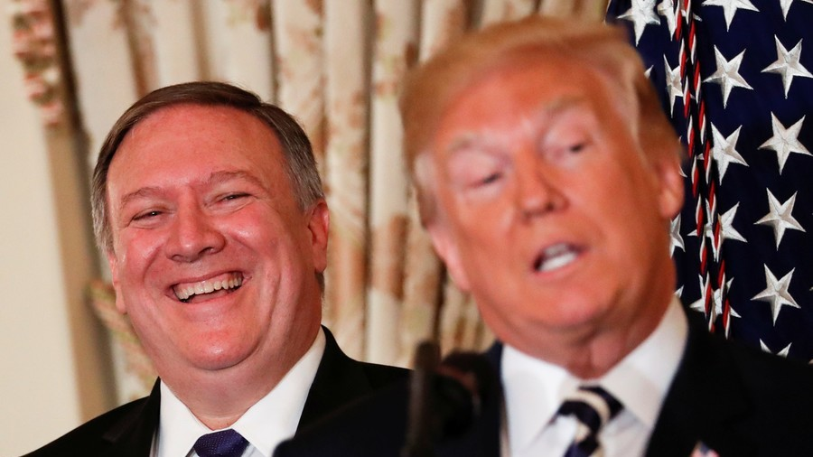 Pompeo jets to Pyongyang as Trump holds out for North Korea nuke deal