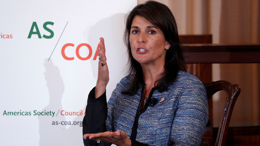 UN is 'abusive' and 'bullying' Israel – Haley