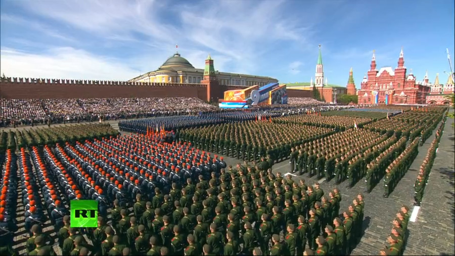 Rumbling robots & hypersonic missiles: Victory Day parade kicks off on Moscow's Red Square